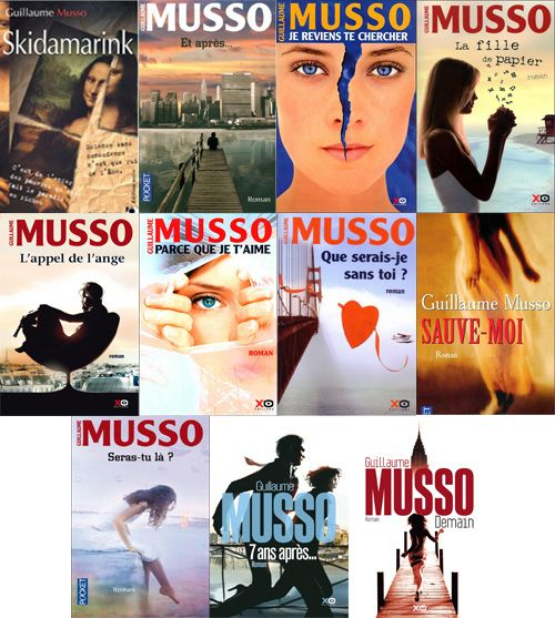 Ebook - Guillaume Musso - Bibliographie (2001-2013)