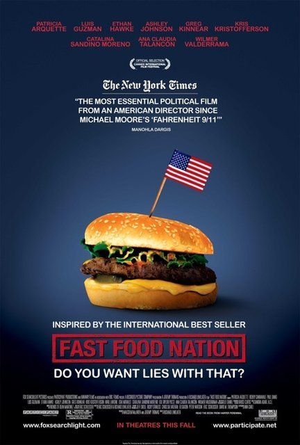 fastfoodnationposter Richard Linklater   Fast Food Nation (2006)